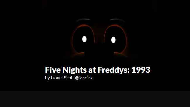 Five Nights at Freddys: 1993 Free Download