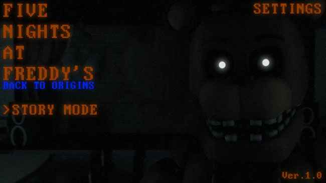 Five Nights At Freddy's : Back to Origins Free Download