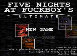 Five Nights at F*ckboy's Ultimate Free Download