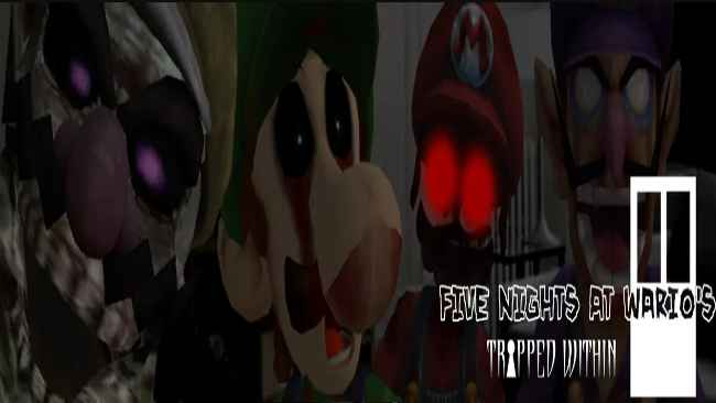 Five Nights at Wario's: Trapped Within Free Download