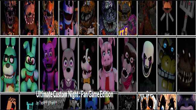 Ultimate Custom Night: Fan Game Edition Free Download